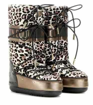 Moon Boot x Jimmy Choo Snow Boots