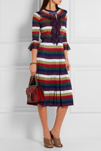 https://www.net-a-porter.com/us/en/product/643488/Gucci/striped-pleated-metallic-knitted-dress