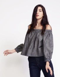 http://www.cynthiarowley.com/tops/chambray-off-shoulder-top.html?color=Blue&size=XS