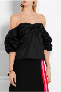 https://www.net-a-porter.com/us/en/product/671788/Johanna_Ortiz/pepper-off-the-shoulder-cotton-poplin-top