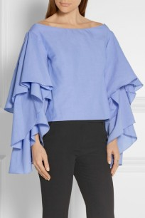 https://www.net-a-porter.com/us/en/product/649460/Rosie_Assoulin/bidi-bidi-bom-bom-off-the-shoulder-ruffled-cotton-poplin-top